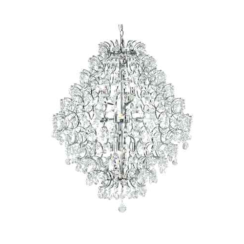 Well Known Mcknight 9 Light Chandeliers With 9 Light Crystal Chandelier – Myfulbright (View 28 of 30)