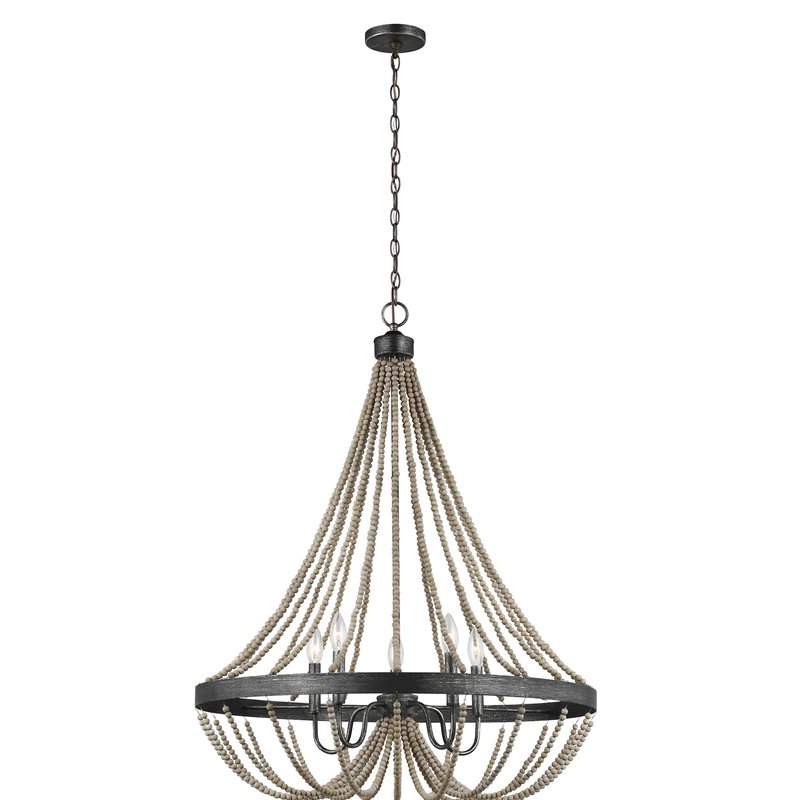 Well Known New Braunfels 5 Light Empire Chandelier In Ladonna 5 Light Novelty Chandeliers (View 29 of 30)