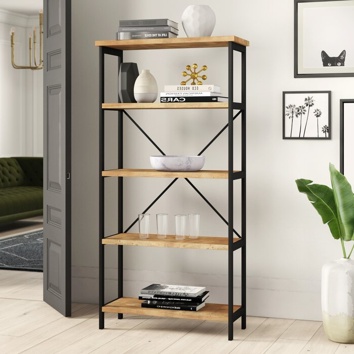 Well Known Parthenia Etagere Bookcase Inside Parthenia Etagere Bookcases (View 4 of 20)
