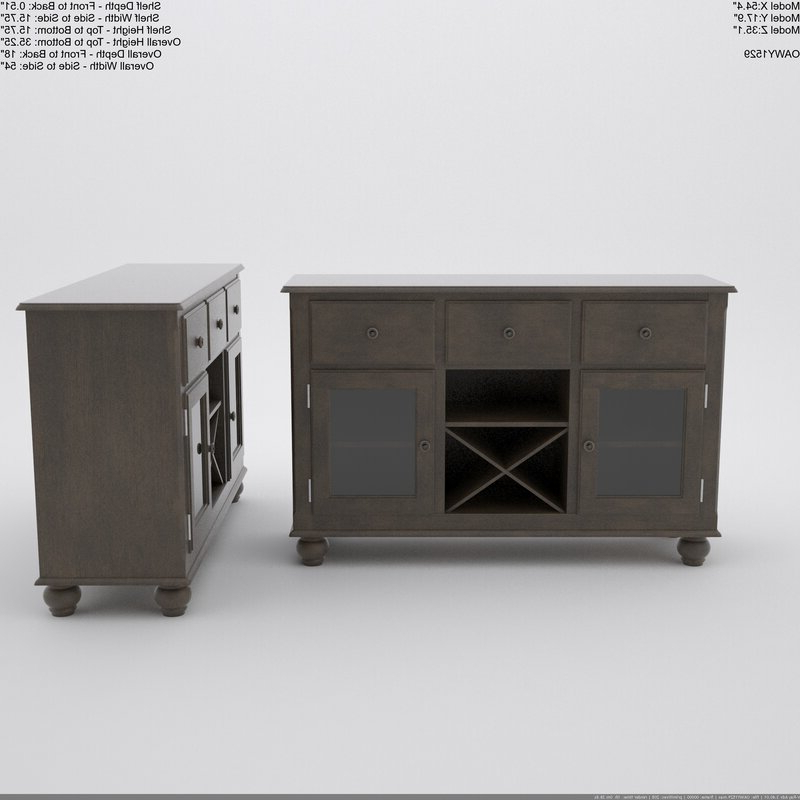 Well Known Perez Sideboard Pertaining To Perez Sideboards (View 19 of 20)
