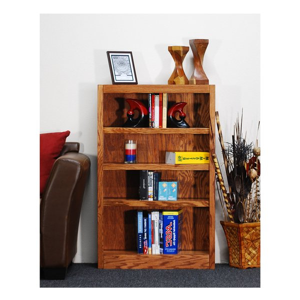 Well Known Standard Bookcaseconcepts In Wood With Regard To Moeller Standard Bookcases (View 19 of 20)