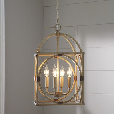 Well Known Taya 4 Light Lantern Square Pendants In Taya 4 Light Lantern Pendant (Gallery 7 of 30)