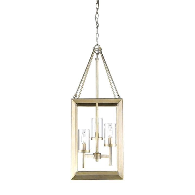 Well Known Thorne 4 Light Lantern Rectangle Pendants Throughout Foyer Pendant Lighting – Pearleneberti (View 24 of 30)