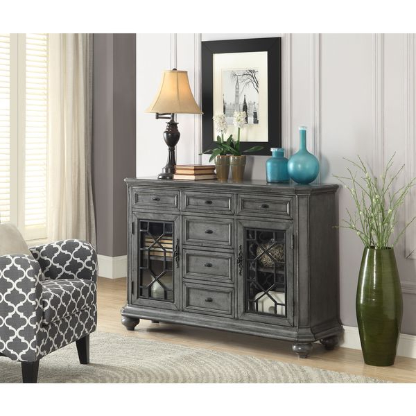 Well Known Two Door Six Drawer Sideboard Throughout Phyllis Sideboards (View 19 of 20)