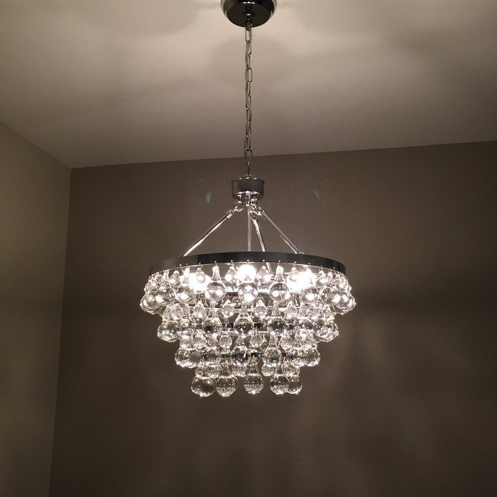 Well Known Verdell 5 Light Crystal Chandeliers Pertaining To Ahern 5 Light Crystal Chandelier In  (View 29 of 30)