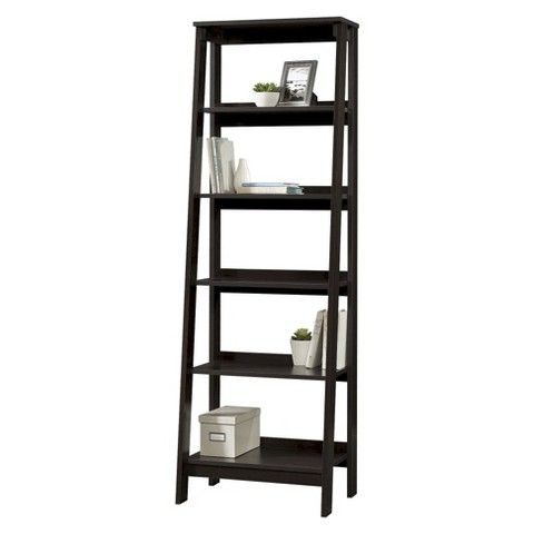 Well Known Whidden Etagere Bookcases Regarding 5 Shelf Trestle Bookcase Espresso – Room Essentials™ (View 16 of 20)