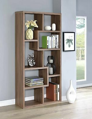 Well Known Wrought Studio Harkless Geometric Bookcase (View 19 of 20)