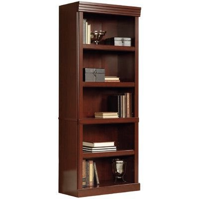 "Well Liked Amazon: Clintonville 71"" 5 Shelf Standard Bookcase Pertaining To Kronqui Standard Bookcases (View 12 of 20)"