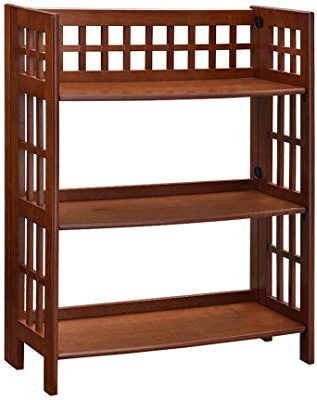 Well Liked Amazon: Winsome Wood 82430 Juliet Shelving, Natural With Herrin 2 Tier Standard Bookcases (View 15 of 20)