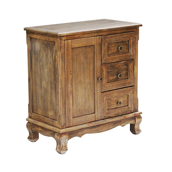 Well Liked Arminta Wood Sideboards Pertaining To Millennium Park 3 Drawer Accent Cabinet (View 13 of 20)