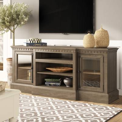 """Well Liked Birch Lane™ Heritage Calila Tv Stand For Tvs Up To 70 Pertaining To Colefax Vintage Tv Stands For Tvs Up To 78"""" (View 9 of 20)"""