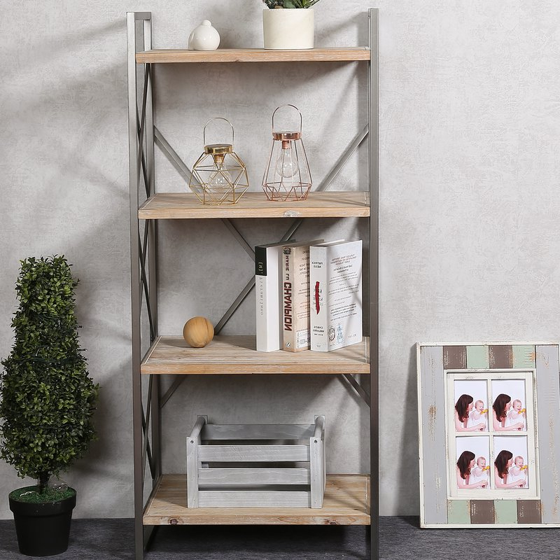 Well Liked Carncoagh Etagere Bookcase Intended For Saskia Etagere Bookcases (View 16 of 20)