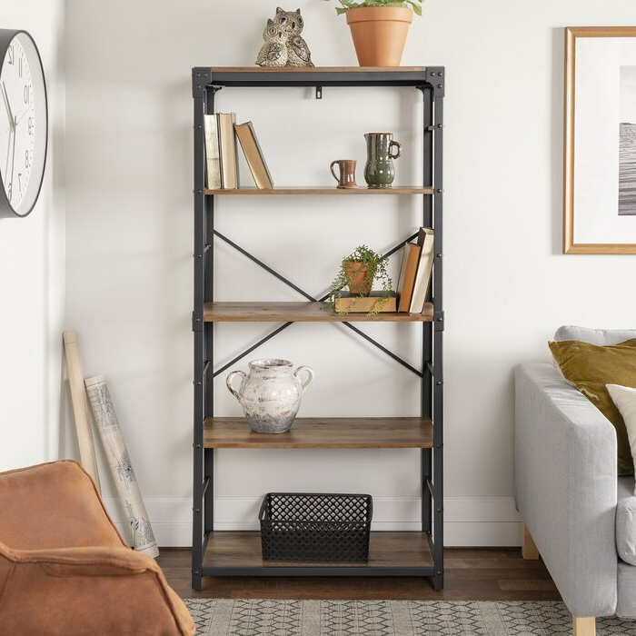 Well Liked Cecelia Etagere Bookcase Throughout Cecelia Etagere Bookcases (View 19 of 20)
