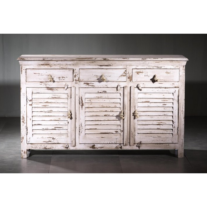 Well Liked Friel Shutter Wood Sideboard Regarding Drummond 4 Drawer Sideboards (View 7 of 20)