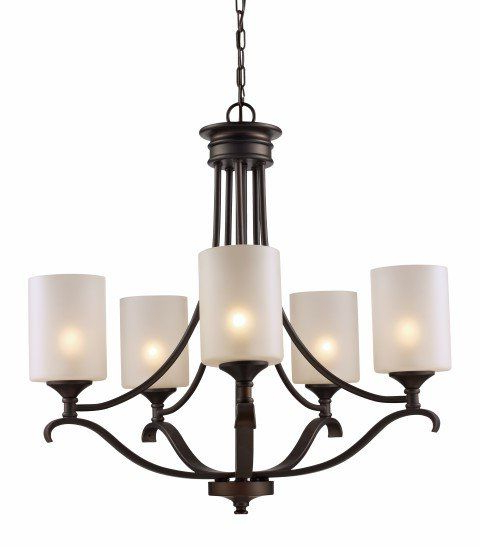 Well Liked Kenedy 9 Light Candle Style Chandeliers With Regard To Suki 5 Light Shaded Chandelier (View 6 of 30)