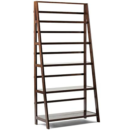 Well Liked Parker Modern Etagere Bookcases In Amazon: Leaning Etagere Bookcase Handcrafted Solid Pine (View 19 of 20)