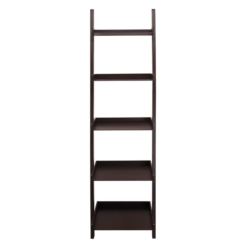 Well Liked Pfaff 5 Tier Ladder Bookcase Intended For Gilliard Ladder Bookcases (View 20 of 20)