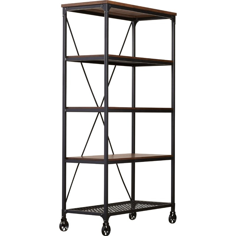Well Liked Rocklin Etagere Bookcases For Rocklin Etagere Bookcase (View 5 of 20)