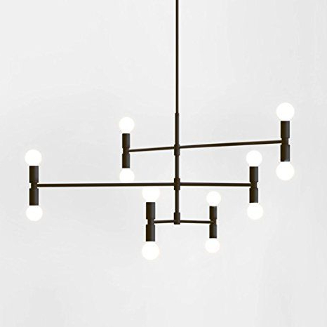 Well Liked Yoka Modern Pendant Lighting Ceiling Chandelier Hanging Lamp With Regard To Sherri 6 Light Chandeliers (View 10 of 30)