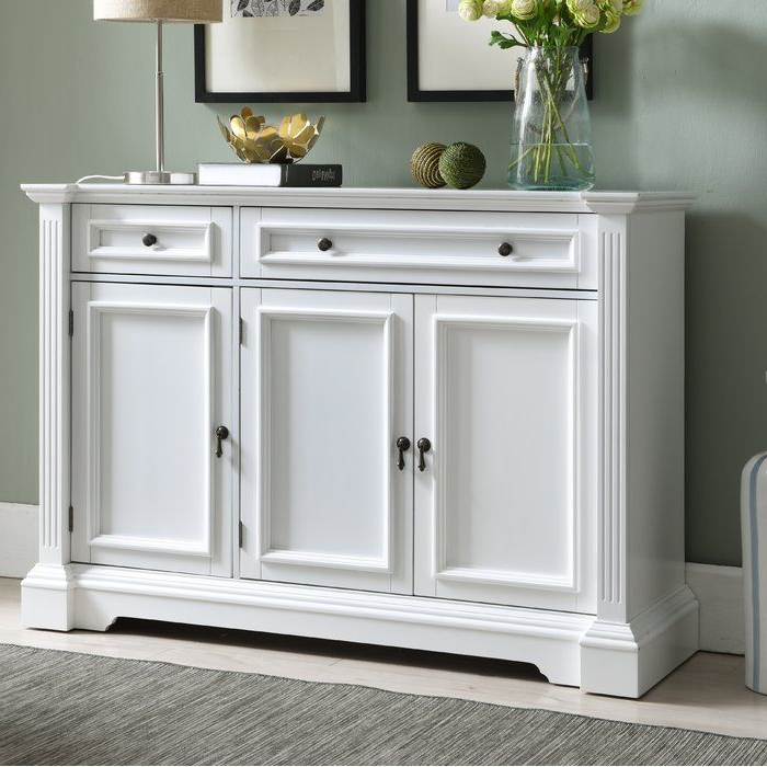 White With Regard To Well Known Emmaline Sideboards (View 10 of 20)