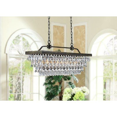Whitten 4 Light Crystal Chandeliers Inside Most Recent Find Pendants At Wayfair (View 5 of 30)