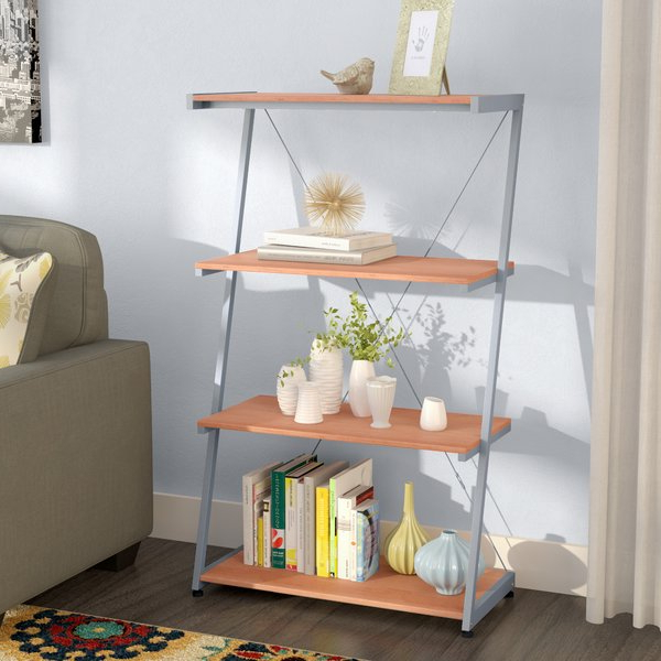 Widely Used Beene Ladder Bookcaselatitude Run Intended For Mayna Ladder Bookcases (View 19 of 20)