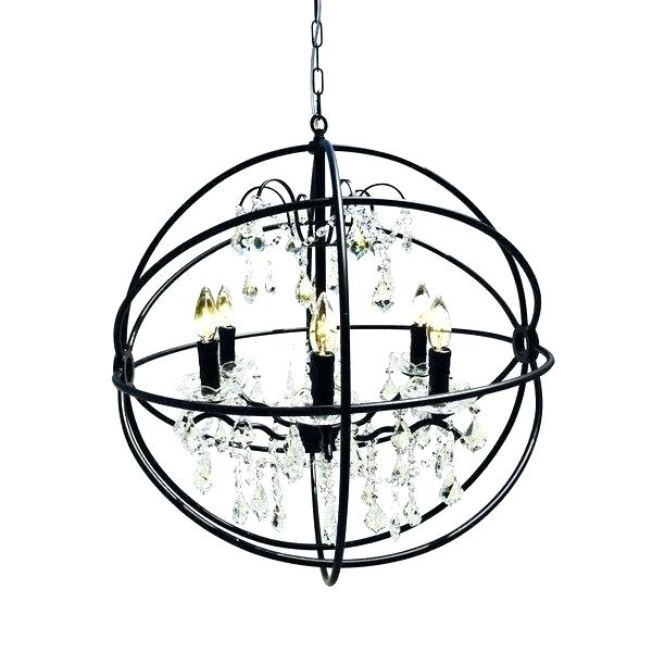 Widely Used Black Globe Chandelier – Aftermidnight (View 27 of 30)