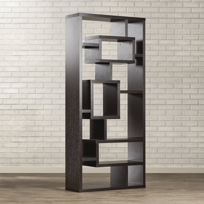 Widely Used Bostic Geometric Bookcases For Cleisthenes Geometric Bookcase (View 20 of 20)