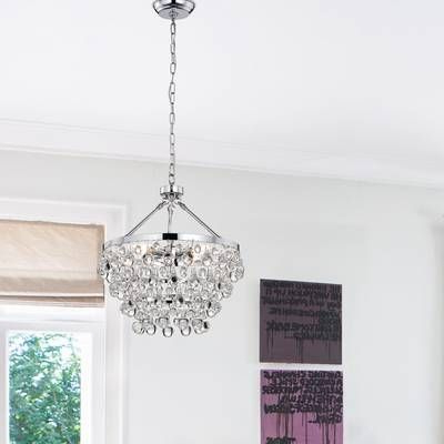 Widely Used Bramers 6 Light Novelty Chandeliers Inside Bramers 6 Light Novelty Chandelier In  (View 30 of 30)
