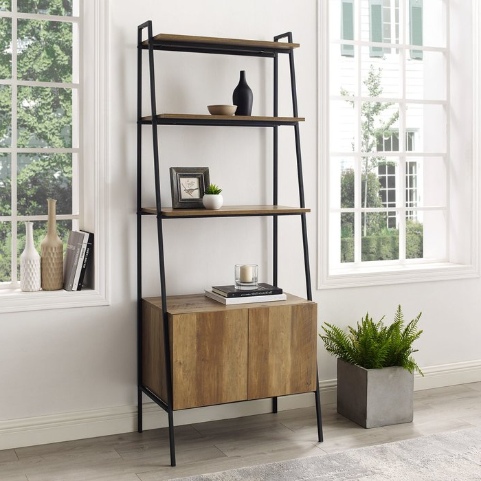 Widely Used Caldwell Ladder Bookcase Regarding Caldwell Etagere Bookcases (View 20 of 20)