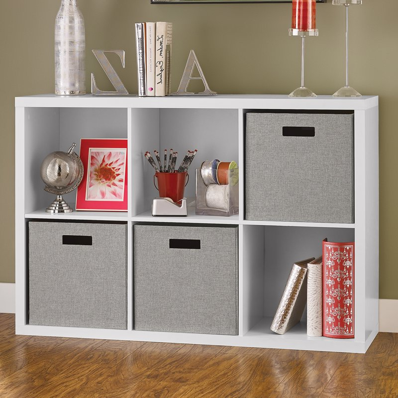 Widely Used Decorative Storage Cube Bookcase Throughout Broadview Cube Unit Bookcases (View 17 of 20)