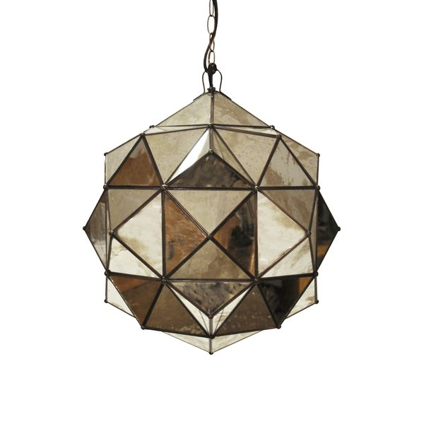 Widely Used Destrey 3 Light Lantern Square/rectangle Pendants For Geometric Pendant (View 26 of 30)