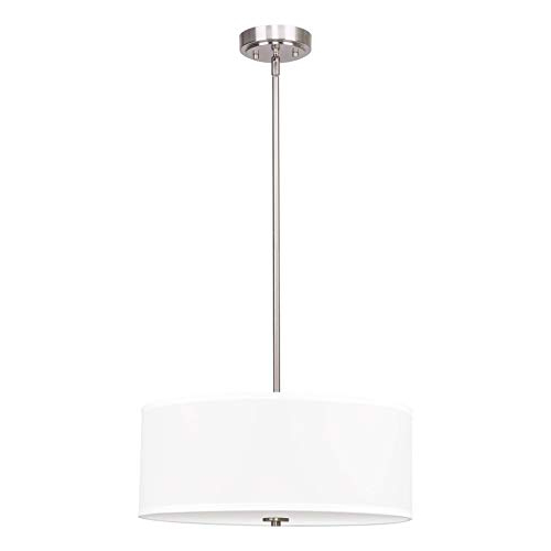 Widely Used Drum Chandelier: Amazon Within Breithaup 4 Light Drum Chandeliers (View 23 of 30)