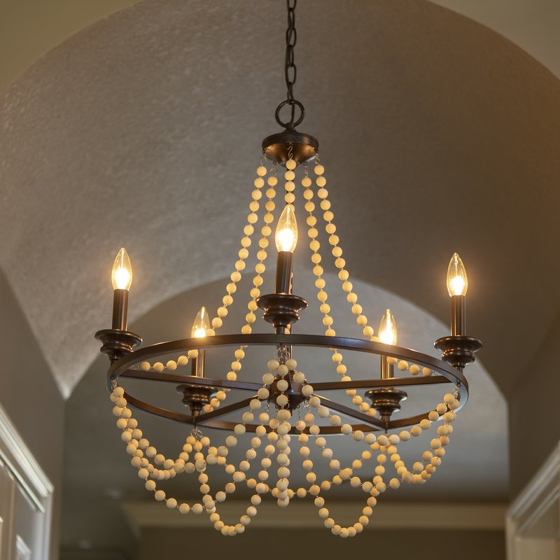 Widely Used Duron 5 Light Empire Chandeliers With Adan 5 Light Candle Style Chandelier (View 30 of 30)