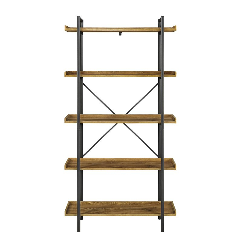 Widely Used Epineux Etagere Bookcases In Swindell Etagere Bookcase (View 16 of 20)