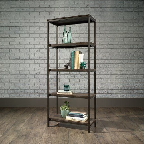 Widely Used Ermont Etagere Bookcase In (View 10 of 20)