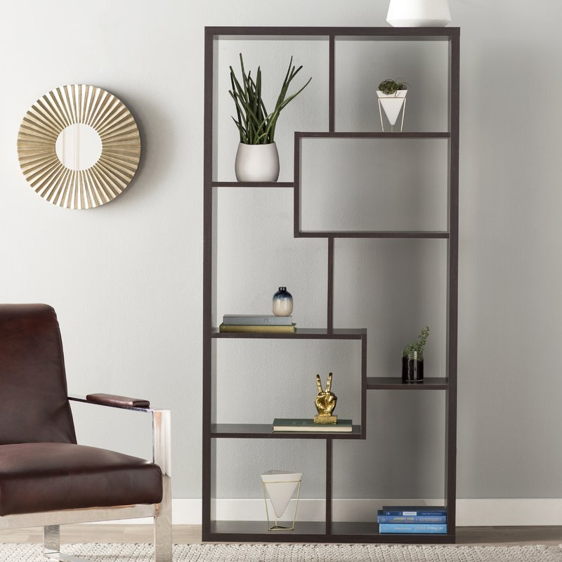 Featured Photo of Ervin Geometric Bookcases