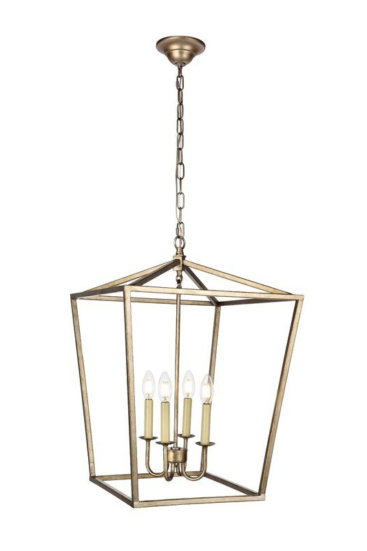 Widely Used Finnick 4 Light Foyer Pendants In Andover Mills Finnick 4 Light Foyer Pendant In  (View 30 of 30)