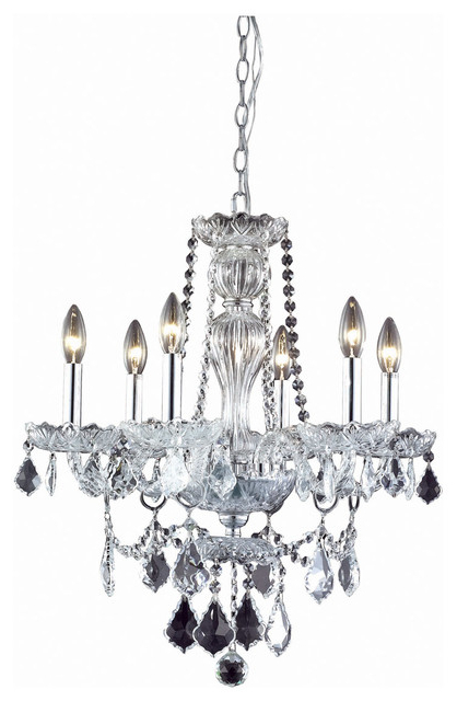 Widely Used Giselle 6 Light Chrome Chandelier Clear Royal Cut Crystal With Gisselle 4 Light Drum Chandeliers (View 30 of 30)