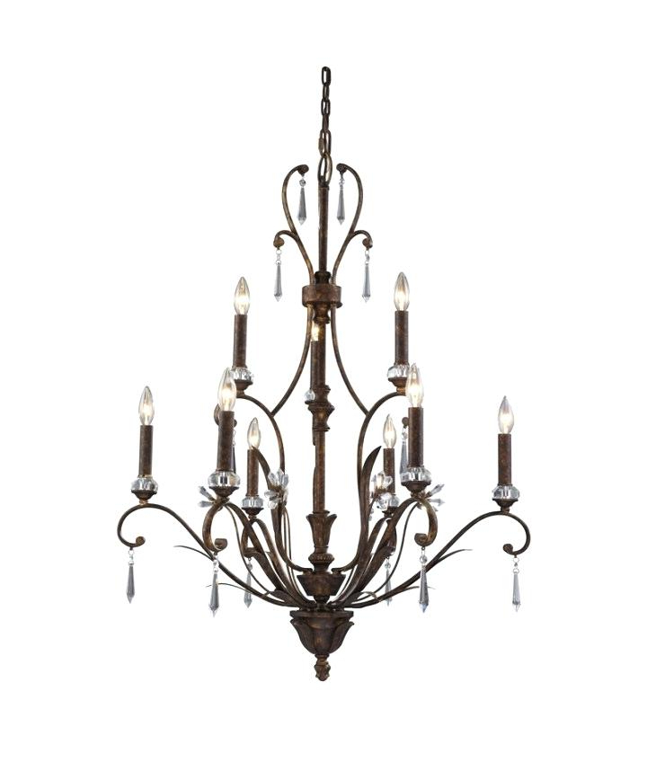 Widely Used Giverny 9 Light Candle Style Chandeliers In Portfolio Lyndsay 9 Light Chandelier Giverny Mcknight Candle (View 30 of 30)