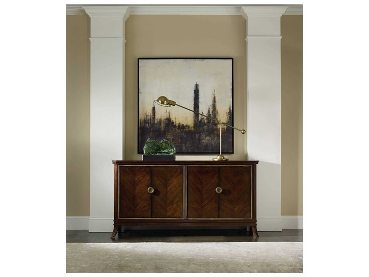 Widely Used Hooker Furniture Palisade Dark Wood 68''lx 18''w Buffet In Palisade Sideboards (View 8 of 20)