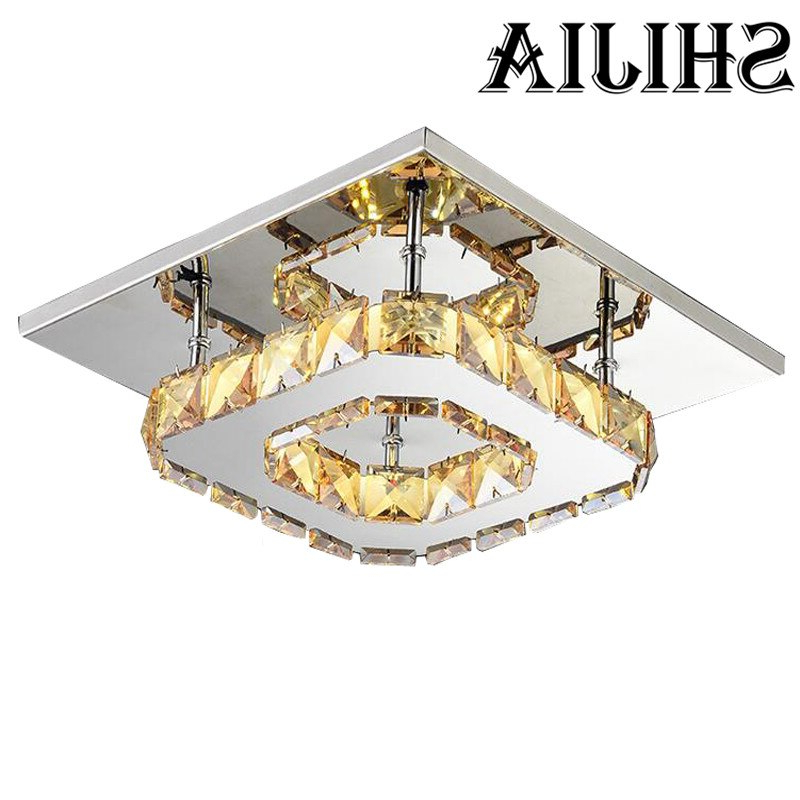 Widely Used La Sarre 3 Light Globe Chandeliers For Buy 1 Pcs Square Led Crystal Light Chandelier Lighting For (View 30 of 30)