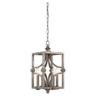 Widely Used Lynn 6 Light Geometric Chandeliers For Lark Manor Lynn 6 Light Geometric Chandelier (View 13 of 30)