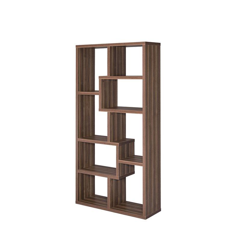 Widely Used Skaggs Geometric Bookcases For Flavius Geometric Bookcase (View 6 of 20)