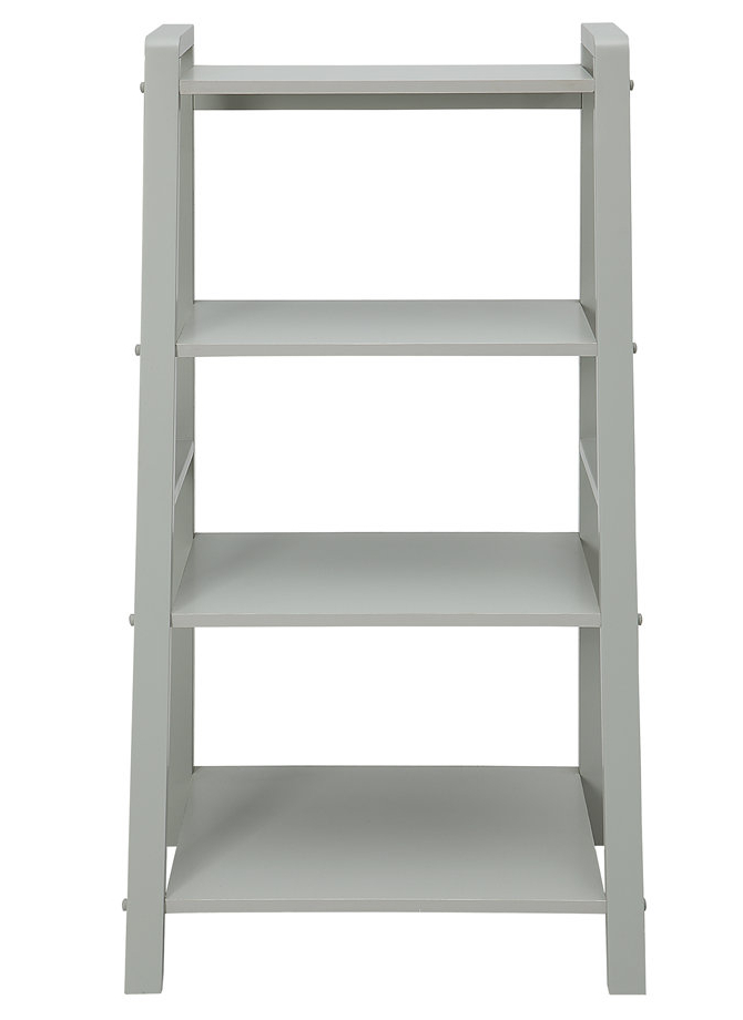 Widely Used West Brookfield Ladder Bookcase Intended For Bordelon Slatted Ladder Bookcases (View 19 of 20)