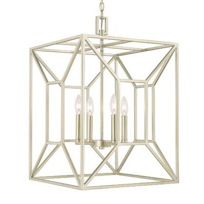 Willa Arlo Interiors Missy 4 Light Square/rectangle Pendant For Most Recently Released Destrey 3 Light Lantern Square/rectangle Pendants (View 27 of 30)