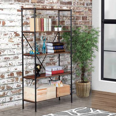 Williston Forge Cifuentes Single Etagere Bookcase & Reviews Pertaining To Popular Cifuentes Dual Etagere Bookcases (View 20 of 20)
