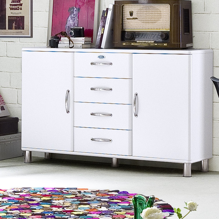 Womack Sideboards Intended For Latest Malibu 2 Door 4 Drawer Sideboard (View 17 of 20)