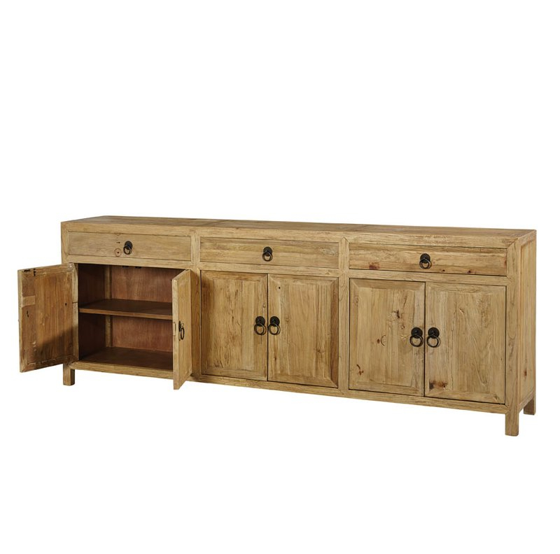 Womack Sideboards Regarding Most Current Large Old Elm Sideboard (View 9 of 20)