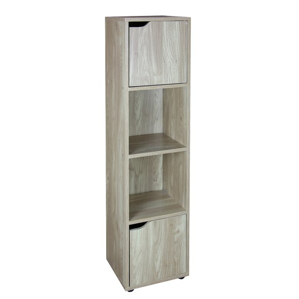 Wood Storage 4 Cube Bookcasehome Basics For 2020 Zona Etagere Cube Bookcases (View 17 of 20)